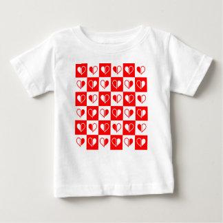 T-shirt Pour Bébé L'amour, Valentine, jour, coeur, femmes, rose,