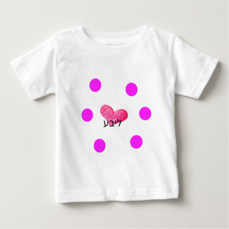 T-shirt Pour Bébé Langue Yiddish de conception d'amour