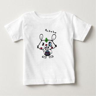 T-shirt Pour Bébé Lapin avec le sourire mauvais