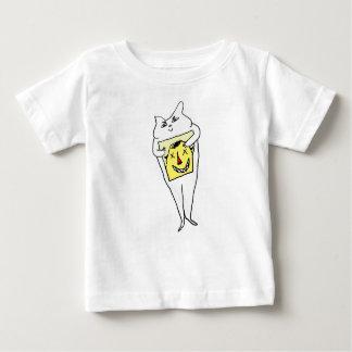 T-shirt Pour Bébé Lapin blanc
