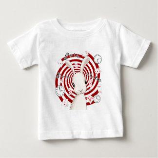 T-shirt Pour Bébé Lapin blanc au pays des merveilles