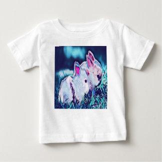 T-shirt Pour Bébé Lapins nains de nuit