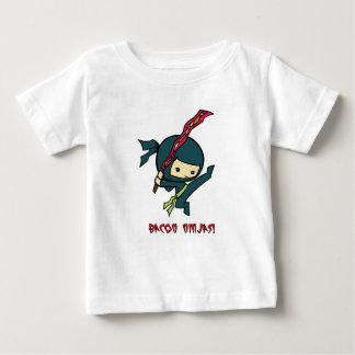 T-shirt Pour Bébé Lard Ninjas