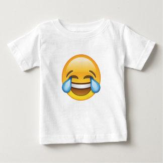 T-shirt Pour Bébé Larmes pleurantes riantes d'emoji de joie