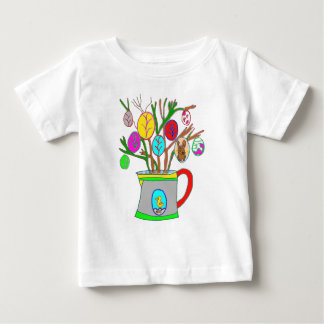 T-shirt Pour Bébé L'ARROSOIR AUX OEUFS DE PAQUES1.png