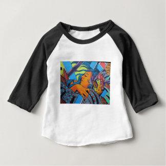 T-shirt Pour Bébé L'art Londres de rue colore le graffiti