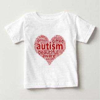 T-shirt Pour Bébé L'autisme est beau