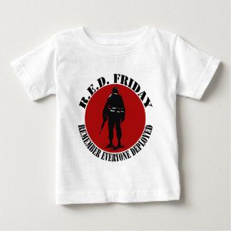 T-shirt Pour Bébé Le bébé des femmes de VENDREDI des hommes