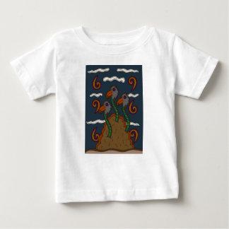 T-shirt Pour Bébé Le Birdworms
