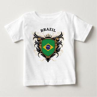T-shirt Pour Bébé Le Brésil