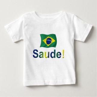 T-shirt Pour Bébé Le Brésil Saude !