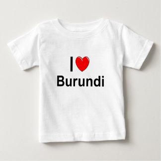 T-shirt Pour Bébé Le Burundi