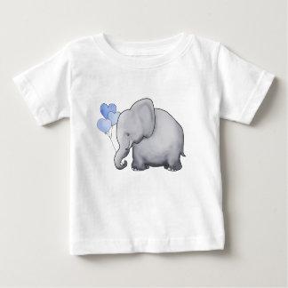 T-shirt Pour Bébé Le coeur adorable mignon doux monte en ballon
