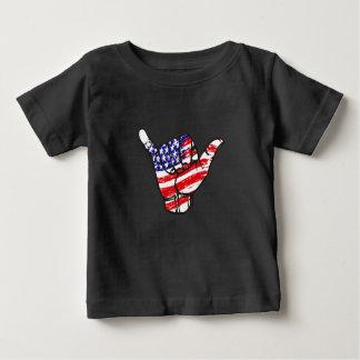 T-shirt Pour Bébé Le coup desserrent les Etats-Unis