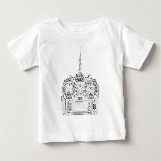 T-shirt Pour Bébé Le crayon a frotté la radio de Spektrum RC