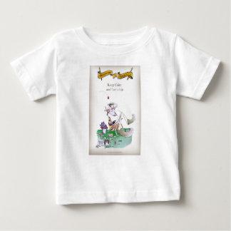 T-shirt Pour Bébé Le cricket historique de Yorkshire 'gardent le