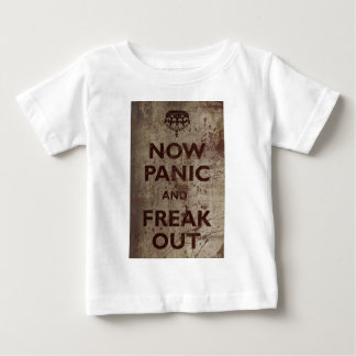 T-shirt Pour Bébé Le cru maintenant paniquent et Freak