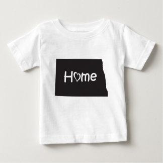 T-shirt Pour Bébé Le Dakota du Nord