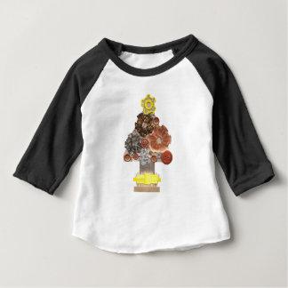 T-shirt Pour Bébé Le dessus raglan d'aucun enfant d'arrière - plan