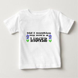 T-shirt Pour Bébé le fils est un avocat