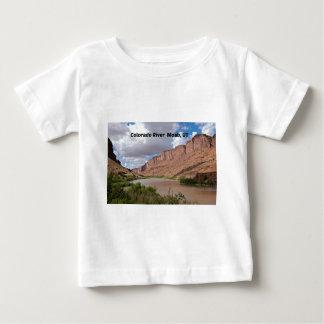 T-shirt Pour Bébé Le fleuve Colorado, Moab, UT