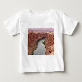 T-shirt Pour Bébé Le fleuve Colorado près du pont de Navajo,