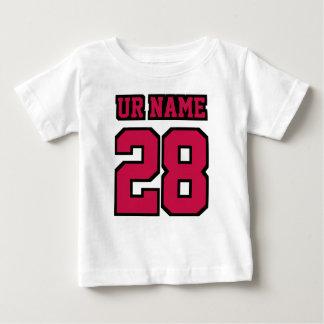T-shirt Pour Bébé Le football BLANC latéral Crewneck de NOIR du