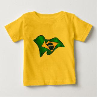 T-shirt Pour Bébé Le football du Brésil