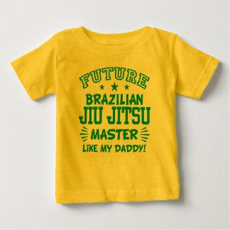 T-shirt Pour Bébé Le futur maître de Jiu Jitsu de Brésilien aiment