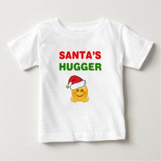 T-shirt Pour Bébé Le hugger impressionnant de Père Noël