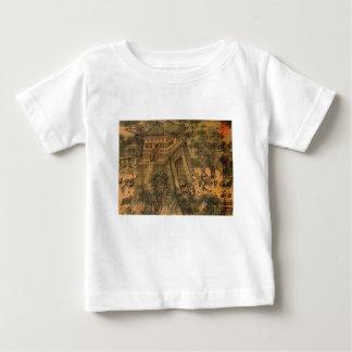 T-shirt Pour Bébé Le long de l'art d'Asiatique de rivière