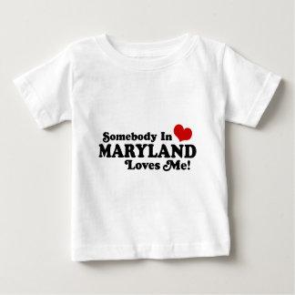 T-shirt Pour Bébé Le Maryland