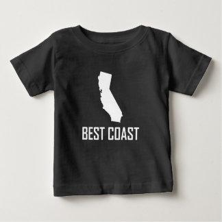 T-shirt Pour Bébé Le meilleur blanc de la Californie de côte ouest