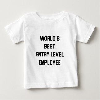 T-shirt Pour Bébé Le meilleur employé de niveau d'entrée