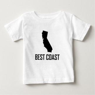 T-shirt Pour Bébé Le meilleur noir de la Californie de côte ouest