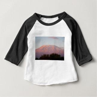 T-shirt Pour Bébé Le mont Kilimandjaro
