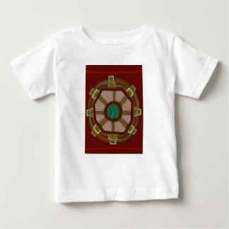 T-shirt Pour Bébé Le moteur du monde
