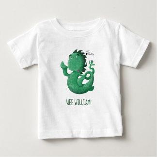 T-shirt Pour Bébé Le Nessie petit de Loch Ness a personnalisé