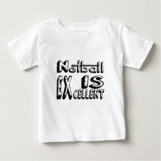 T-shirt Pour Bébé Le net-ball est excellent