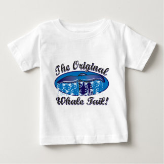 T-shirt Pour Bébé Le-Original-Baleine-Queue