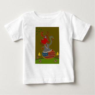 T-shirt Pour Bébé Le politicien
