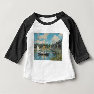 T-shirt Pour Bébé Le pont à Argenteuil - Claude Monet