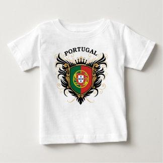 T-shirt Pour Bébé Le Portugal