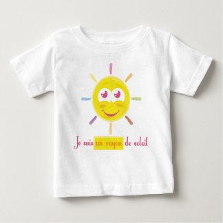 T-shirt Pour Bébé le rayon de soleil