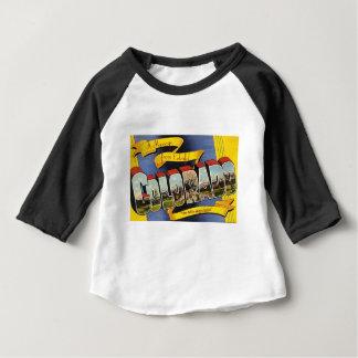T-shirt Pour Bébé Le rétro Colorado coloré