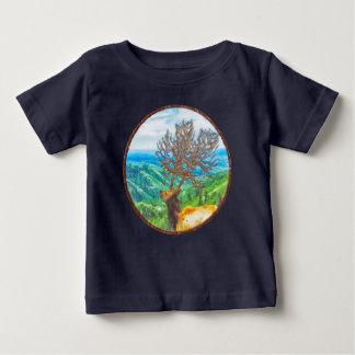 T-shirt Pour Bébé Le Roi Cervus