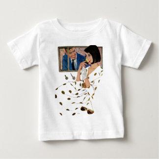 T-shirt Pour Bébé Le rose d'or