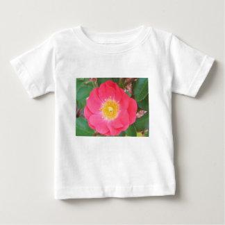 T-shirt Pour Bébé Le saumon de vieille école coloré s'est levé