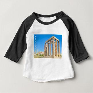 T-shirt Pour Bébé Le temple de Zeus olympien à Athènes, Grèce,