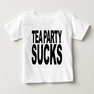 T-shirt Pour Bébé Le thé suce